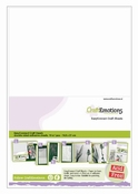 EasyConnect Dubbelzijdig Craft Sheets A5 formaat