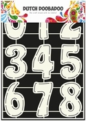 Dutch Doobadoo Stencil Art Numbers