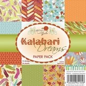 Wild rose Paper Pack Kalahari Dreams per stuk