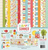 Echo Park Collection Kit  Happy Summer 12 x 12 inch