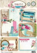 Project Cards A4 Romantic Summer 09 per stuk