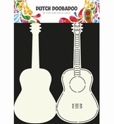 Dutch Doobadoo Card Art Guitar
