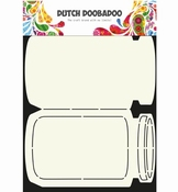 Dutch Doobadoo Card Art  Koektrommel