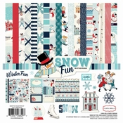 "Carta Bella Snow Fun Collection Kit 12""x12"" per stuk"