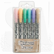 Tim Holtz Distress Crayon SET 4