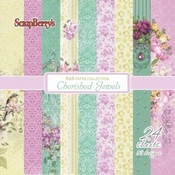 Scrapberry | Cherished Jewels | paperpad 6x6 Inch