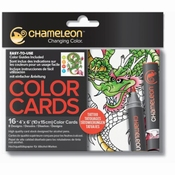 Chameleon Color Card Tattoo per stuk