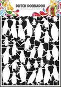Dutch Doobadoo Paper Art A5 Pinquins