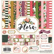Carta Bella Flora Collection Kit 12 x 12 inch Per stuk
