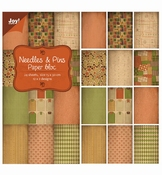 JoyCrafts Papierblok Needles & Pins