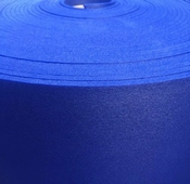 Saffier Blauw, Foam in 7mm dikte, 1 meter breed Per Meter