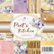 Wild rose Paper Pack Poets Kitchen per stuk