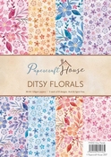 Wild rose Papercraft House - Ditsy Florals per stuk