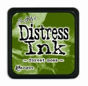 Distress Mini Ink Ink  - forest moss