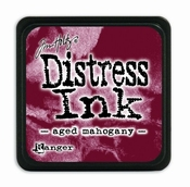 Distress Mini Ink Ink  - aged mahogany  per stuk