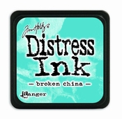 Distress Mini Ink Pad - broken china