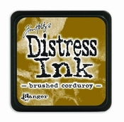 Distress Mini Ink Pad - brushed corduroy per stuk