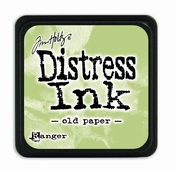 Distress Mini Ink Ink  - old paper