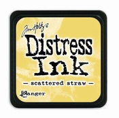 Distress Mini Ink Ink  - scattered straw