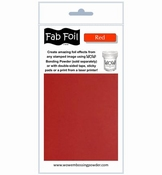 Wow Fab Foil | Red