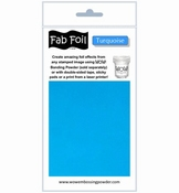 Wow Fab Foil   Turquoise