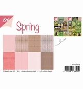 Joy Crafts Papierset Spring