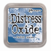 Distress oxide - Faded Jeans per stuk
