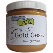 The Crafters Workshop Gesso GOLD - 237ml per stuk