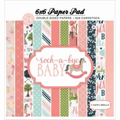 Carta Bella paperpad Rock a bye baby GIRL