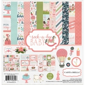 Carta Bella Collection Kit Rock a bye baby GIRL