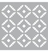 Mask stencil pattern Squares