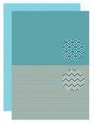 Background sheet - Men-things - Zigzag per stuk