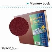 Memory - Scrapbook album 12 x 12 BURGUNDY