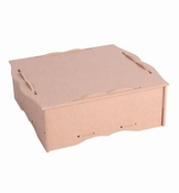Box with lid(removable dividers) per stuk