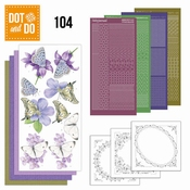 Dot and Do 104 Butterflies - Vlinders per stuk
