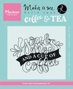 Marianne Design Stempel Quote -You & Me and a cup of coffee