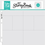 EP - My Story Book - Pocket Page - 4x6/3x4 Pockets (10 Sheet