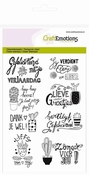 clearstamps A6 - cactus handlettering (NL) Botanical Nature