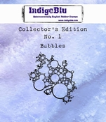 IndigoBlu stempel Collector's Edition 1 Bubbles