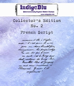 IndigoBlu stempel Collector's Edition 2 French Script
