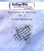 IndigoBlu stempel Collector's Edition 3 Cross Hatching