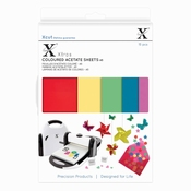 Xcut Colored acetate sheets A5 Per zakje