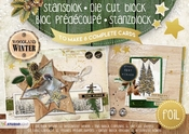 StudioLight A5 stansblok Woodland Winter per stuk