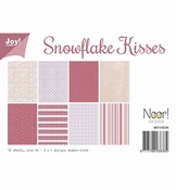 JoyCrafts papier Snowflake Kisses