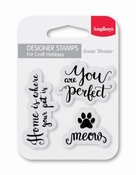 Scrapberry Clear Stempel Forest Wild & Free