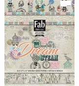 Fab Scrap Dream Steam Collection Paper Pad per stuk