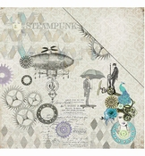 FabScrap papier | Steampunk Flying Machine