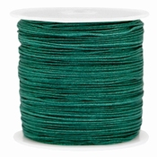 Groen Macramédraad 0,8mm Dark Emeral Green