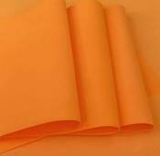 Foamiran Oranje - 0,8mm - Flower Foam