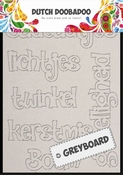 Greyboard Art Christmas per stuk